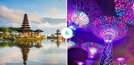 Bali + Singapur