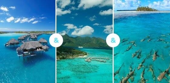 Bora Bora + Moorea + Rangiroa
