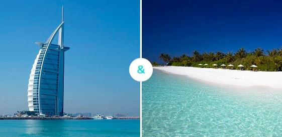 Dubaj + Malediwy