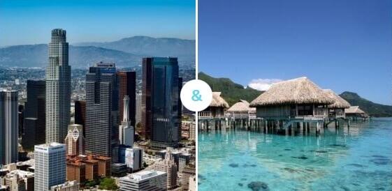 Los Angeles + Polinezja Francuska