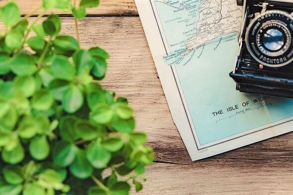Planowanie podróży - mapa i aparat