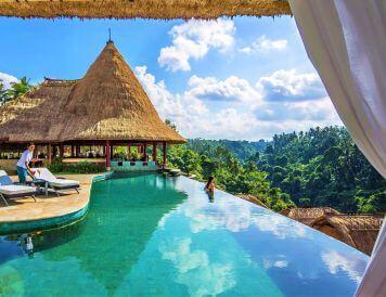 Widok na dżunglę - Viceroy Bali
