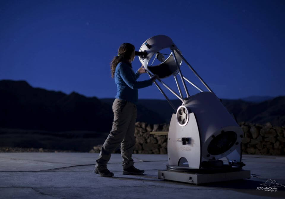 Chile, San Pedro de Atacama - Alto Atacama Desert Lodge, obserwacja gwiazd