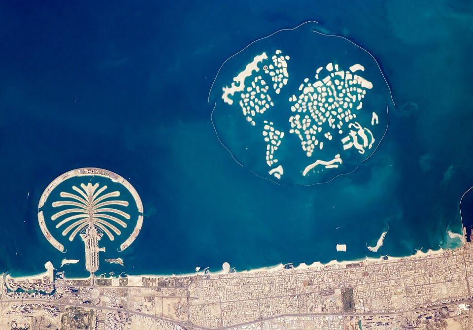 Sztuczna wyspa w Dubaju - Palma