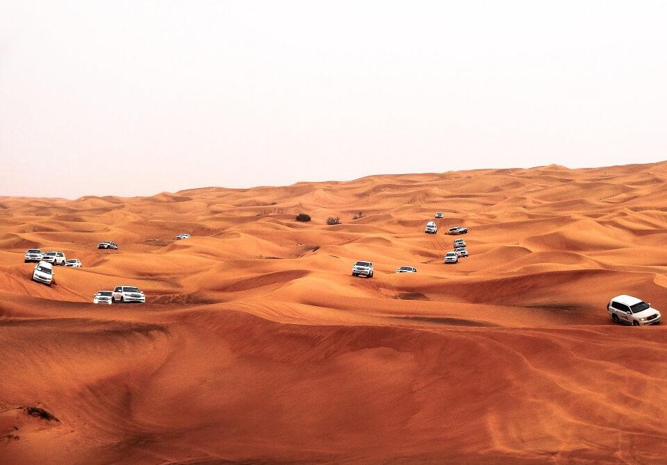Safari po pustyni w Dubaju