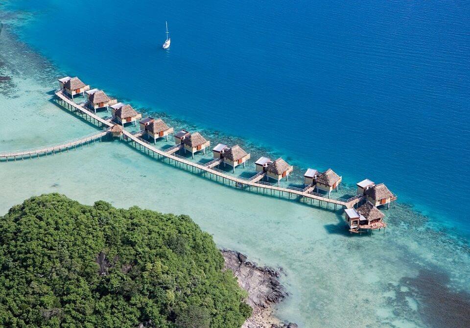Fidżi, Malolo - Likuliku Lagoon Resort, domki na wodzie
