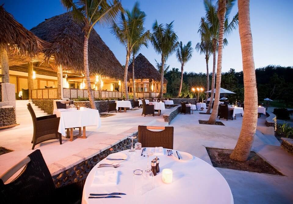 Fidżi, Malolo - Likuliku Lagoon Resort, restauracja