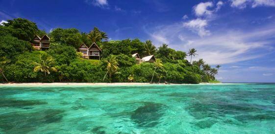 Prywatna wyspa - Davui Island Resort