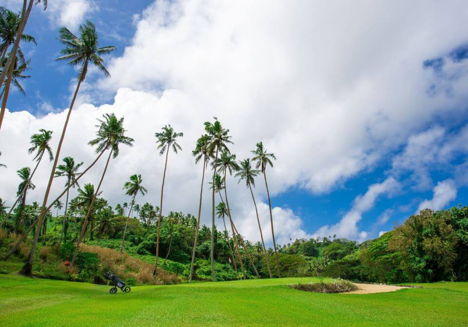 Fidżi, wyspa Vanua Levu - Namale the Fiji Islands Resort & Spa, pole golfowe