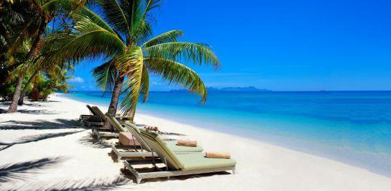 Fidżi, wyspa Vomo - Vomo Island Resort, plaża mini