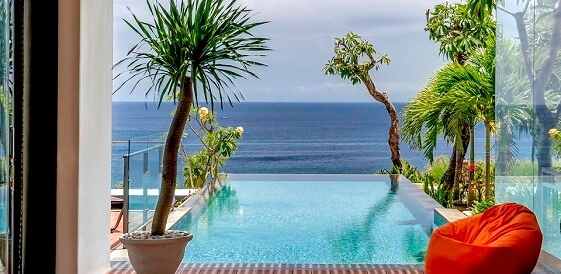 Indonezja, wyspa Bali - Hotel Anantara Uluwatu Bali - Ocean Pool Villa — kopia