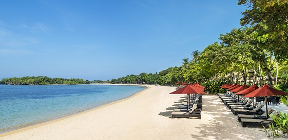 Indonezja, wyspa Bali- Hotel The Laguna Bali, plaża