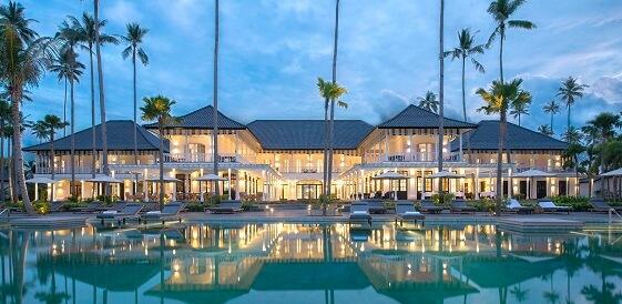 Indonezja, wyspa Bintan - hotel Sanchaya Bintan, główny basen