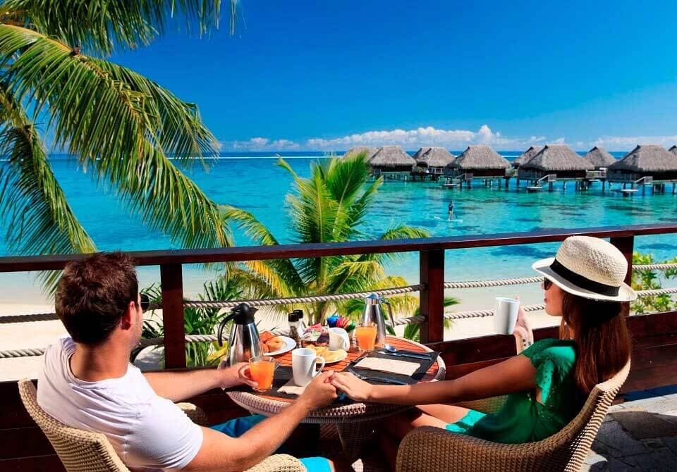 Polinezja Francuska, Moorea - Hilton Moorea Lagoon, Arii restauracja Vahine