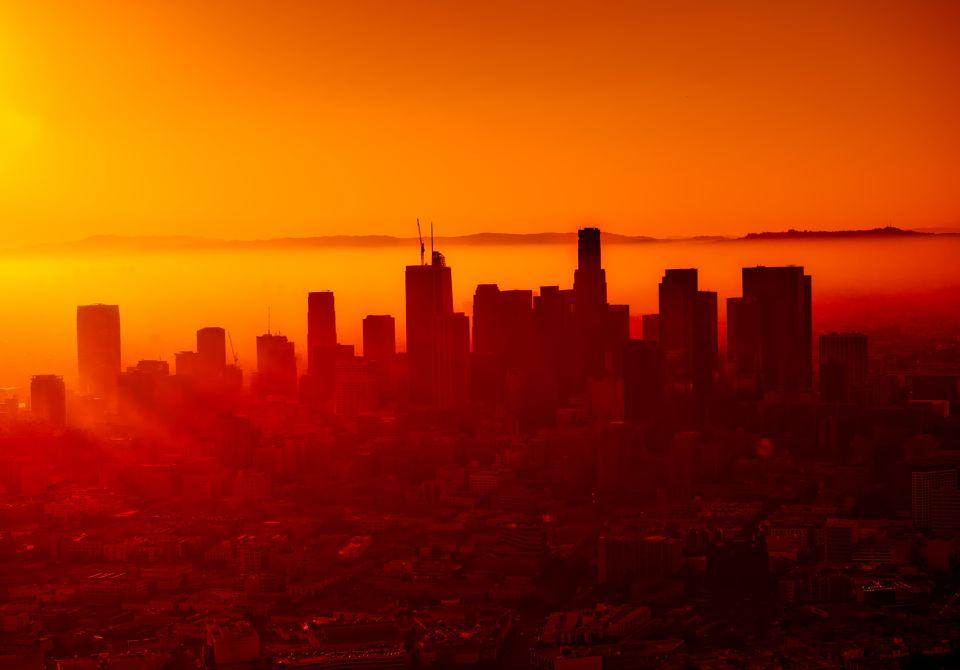 los angeles zachód słońca