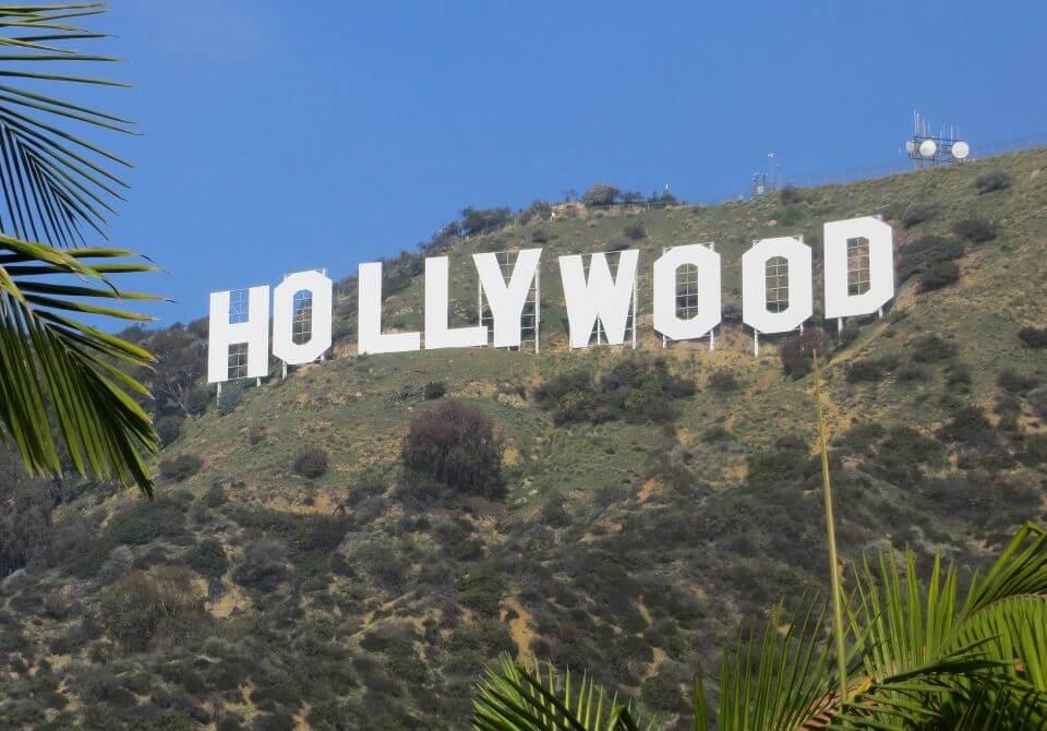 Los Angeles, napis Hollywood