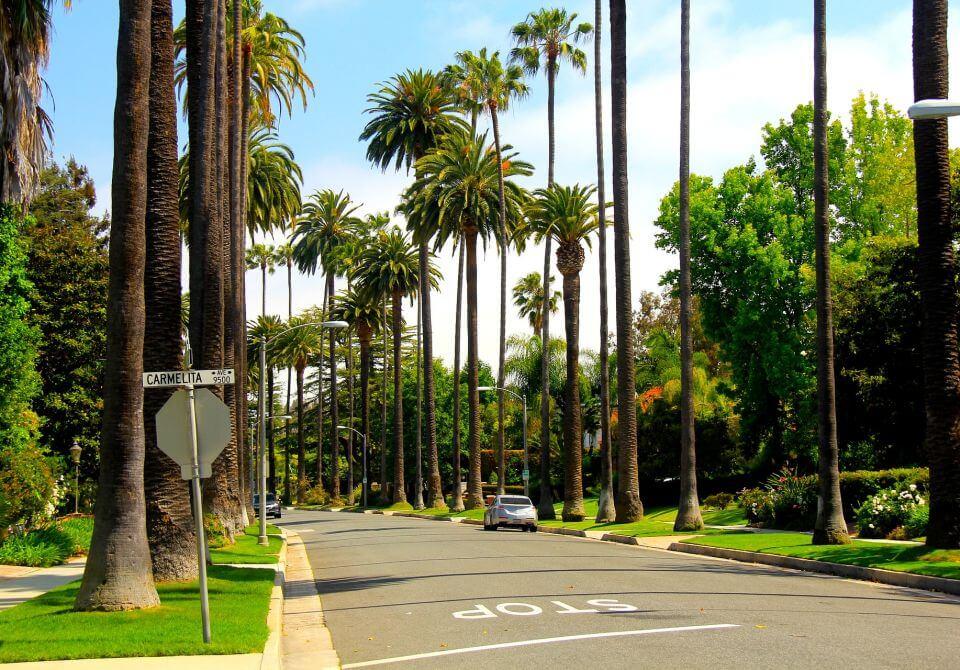Los Angeles, ulica stop