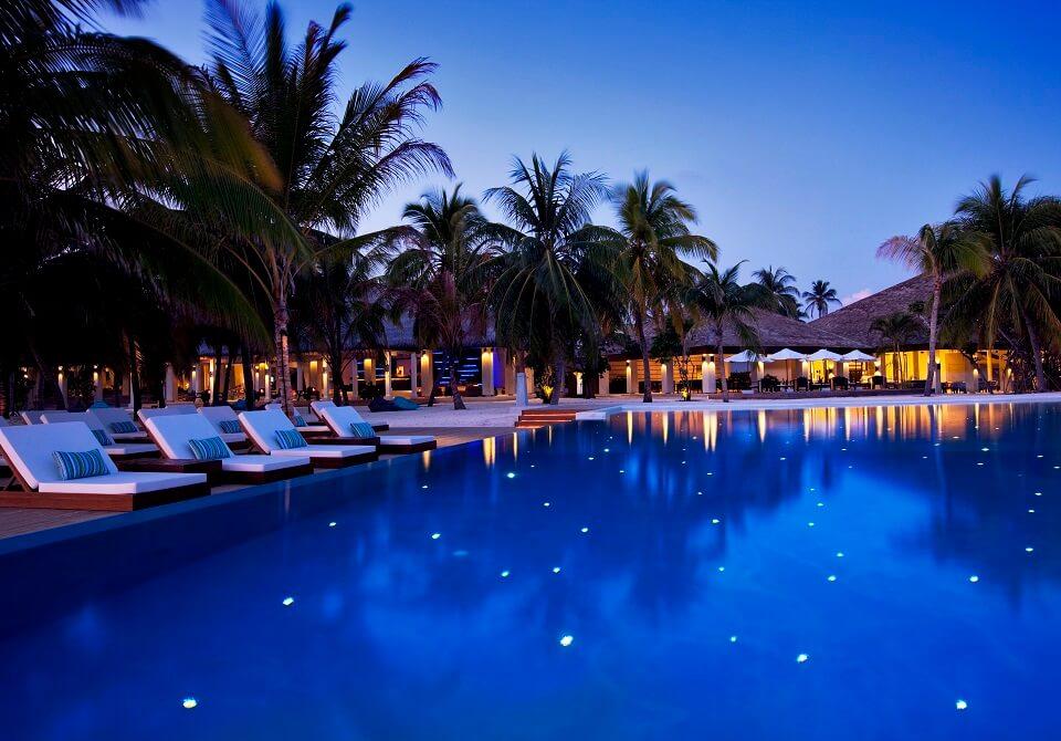 Hotele na Malediwach - basen