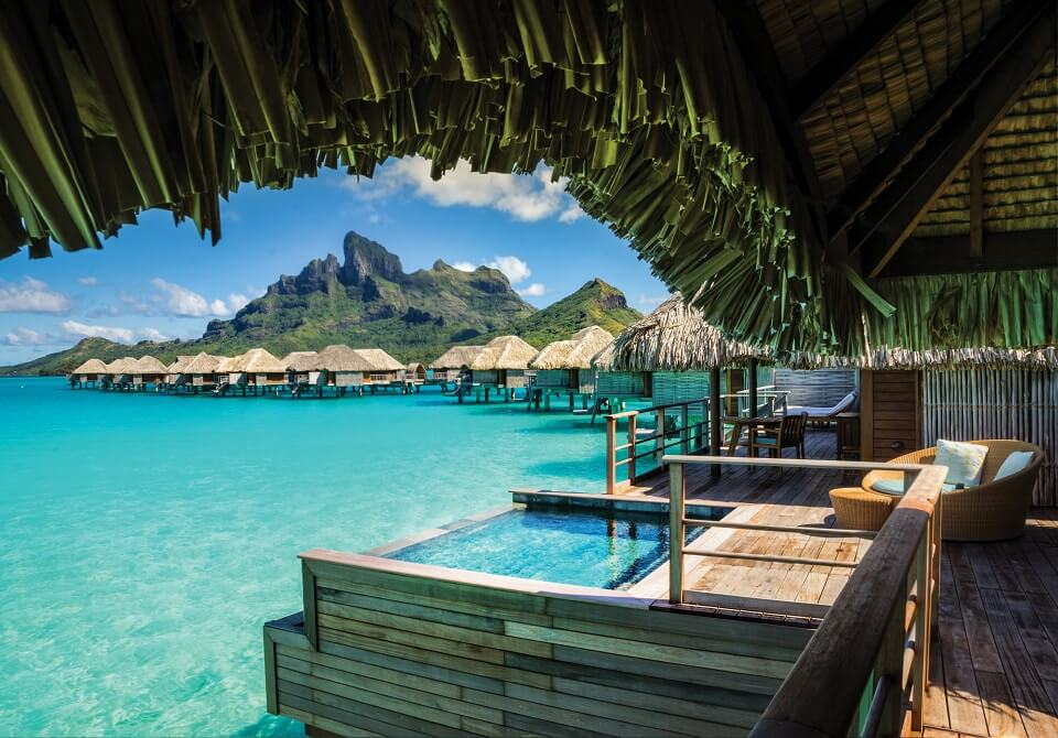 Polinezja Francuska, Bora Bora - Four Seasons Resort, 2-BR willa na wodzie