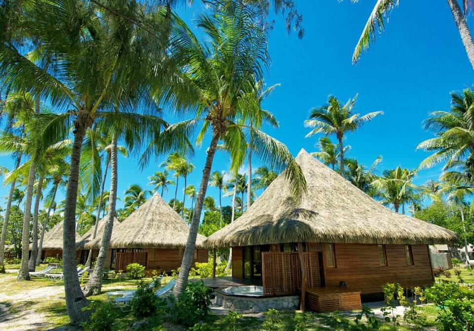 Polinezja Francuska, Rangiroa - KiaOra Resort, bungalow