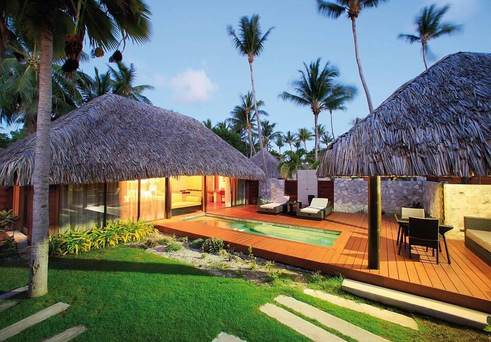 Polinezja Francuska, Rangiroa - KiaOra Resort, Villa z basenem