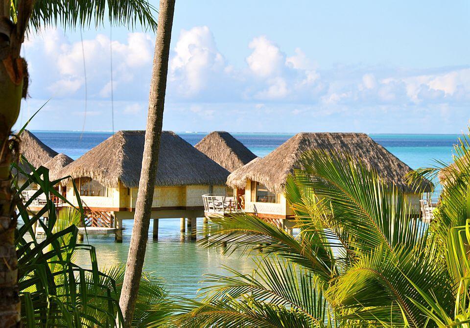 Polinezja Francuska, Tahaa - Le Taha'a Island, bungalow na wodzie
