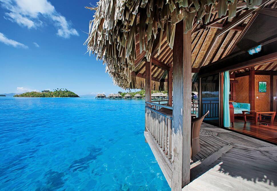 Wyspa Bora Bora - Bungalow na wodzie