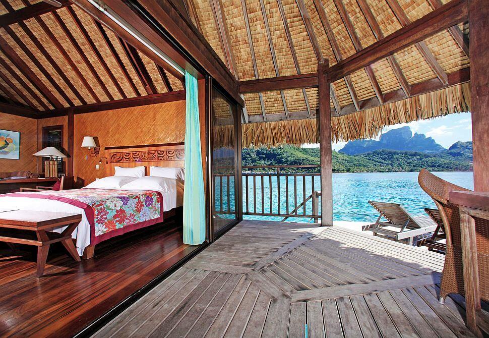 Dom na wodzie na wyspach Bora Bora