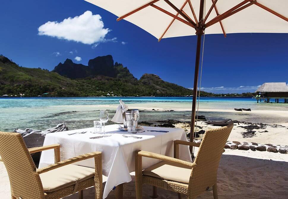 Wyspy Bora Bora w Polinezji Francuskiej