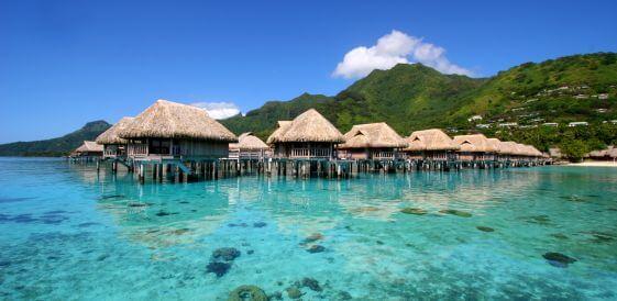 Wczasy w Polinezji Francuskiej na wyspie Moorea