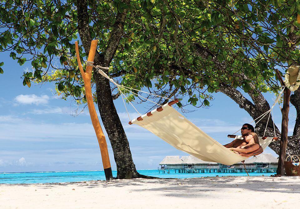 Polinezja Francuska, wyspa Moorea - Sofitel Moorea Ia Ora, plaża