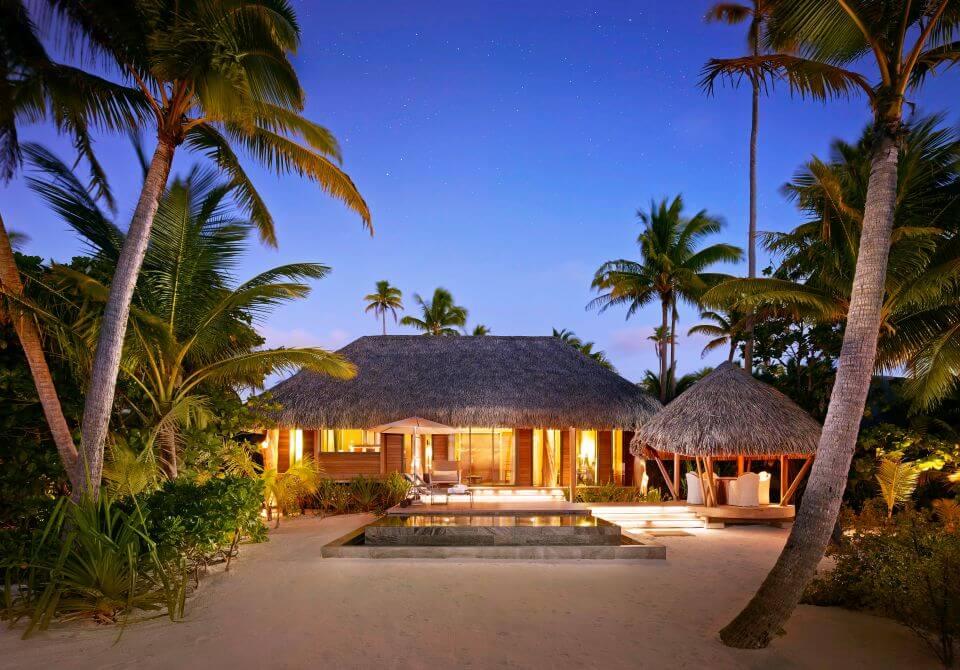 Polinezja Francuska, wyspa Tetiaroa, The Brando willa