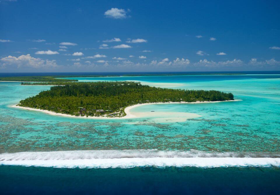 Polinezja Francuska, wyspa Tetiaroa, The Brando, palmy plaża