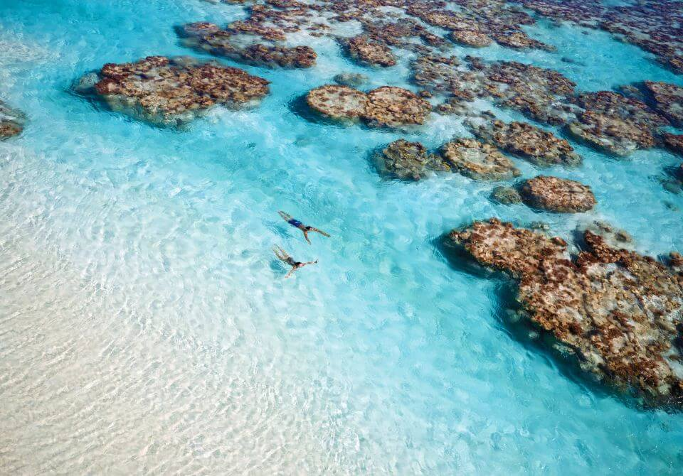 Polinezja Francuska, wyspa Tetiaroa, The Brando, morze