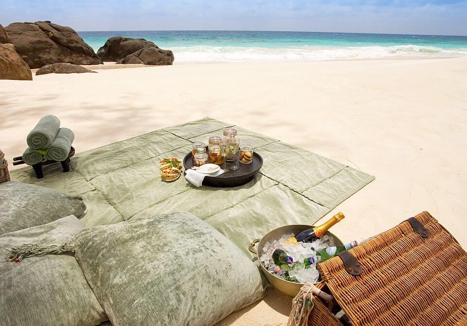 Seszele, North piknik na plaży 2