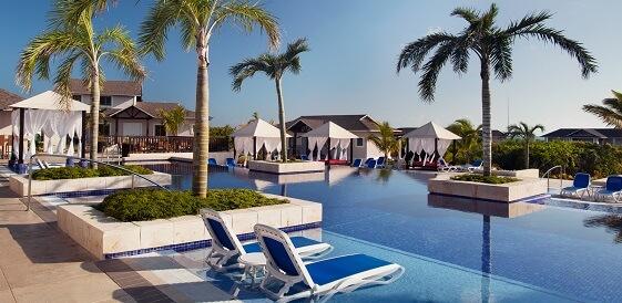 Karaiby, Kuba - Hotel Royalton Cayo Santa Maria, basen 2