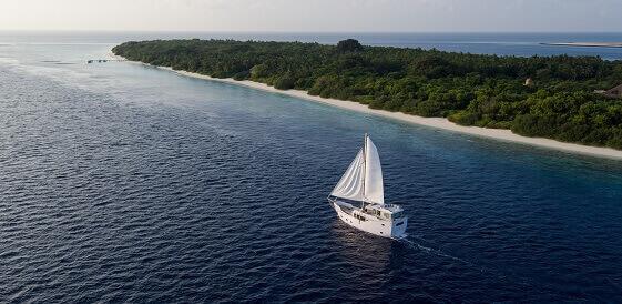 Wakacje na Malediwach - na jachcie