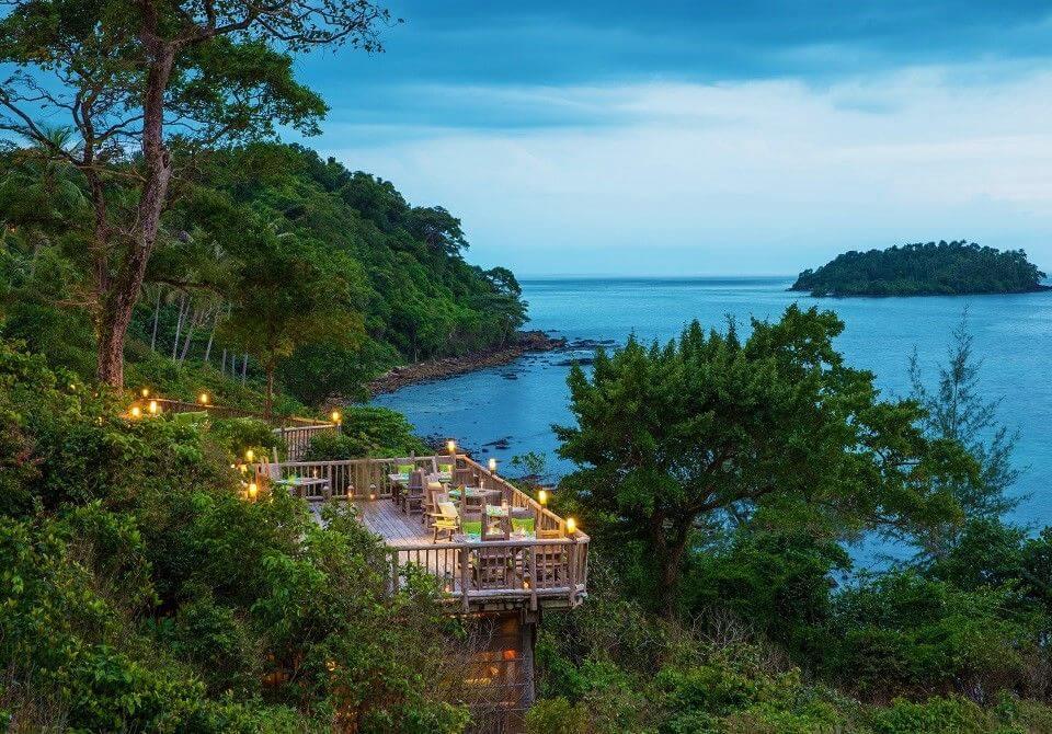 Azja, Tajlandia, Soneva Kiri - widok z góry