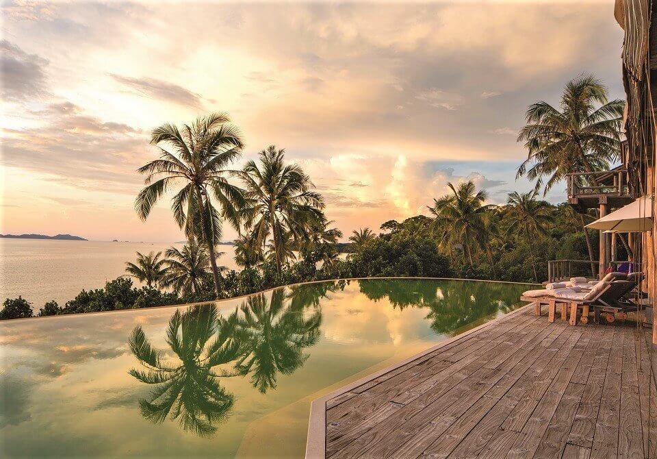 Azja, Tajlandia, Soneva Kiri Villa - basen