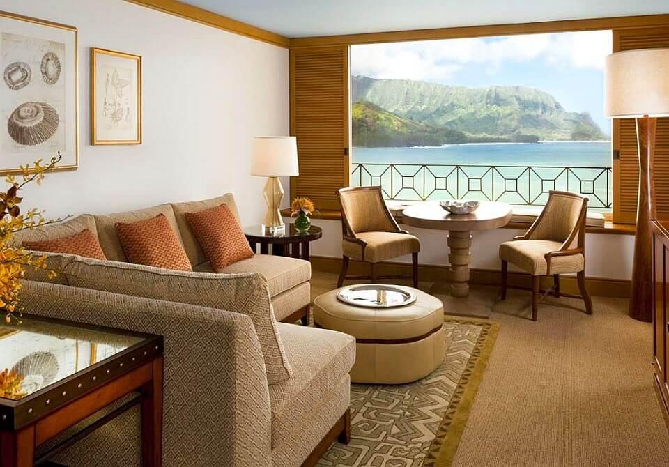 Hawaje, wyspa Kauai - The St. Regis Princeville Resort, apartament 2