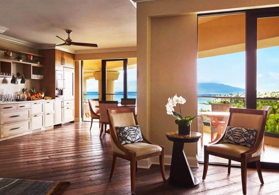 Hawaje, wyspa Maui - Four Seasons Resort Maui at Wailea, apartament