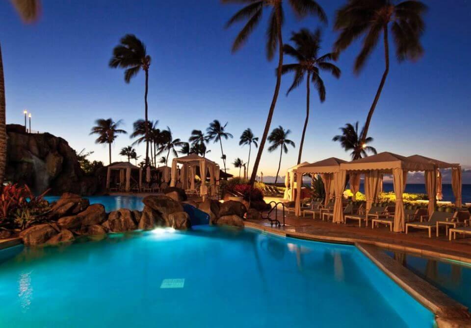 Hawaje, wyspa Maui - Four Seasons Resort Maui at Wailea, basen