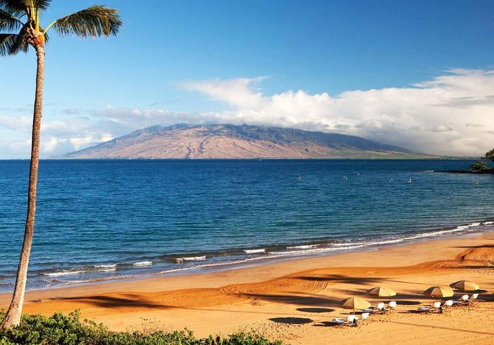 Hawaje, wyspa Maui - Four Seasons Resort Maui at Wailea, plaża