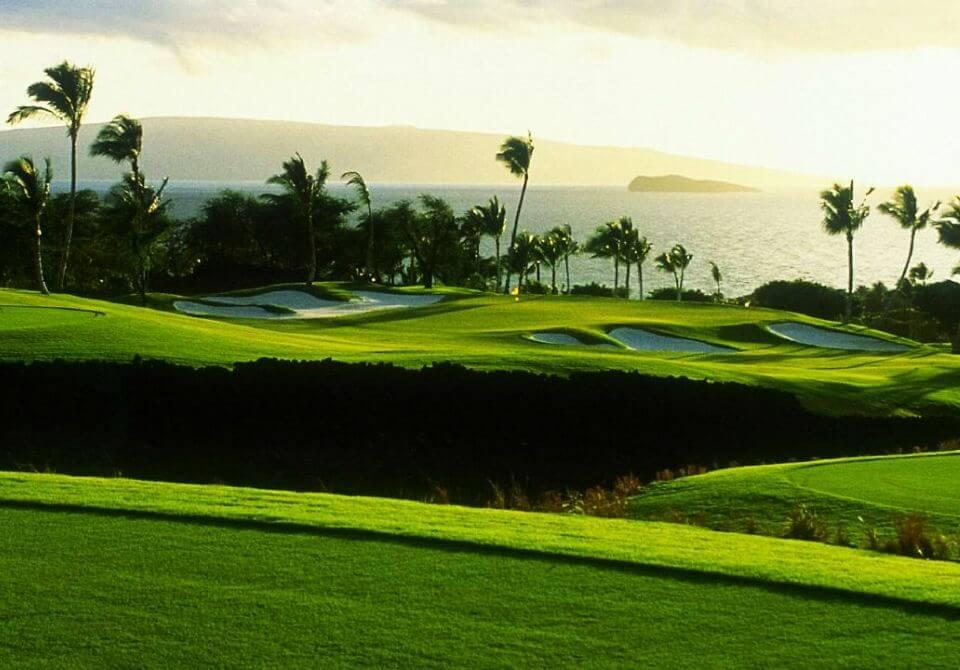 Hawaje, wyspa Maui - Four Seasons Resort Maui at Wailea, pole golfowe