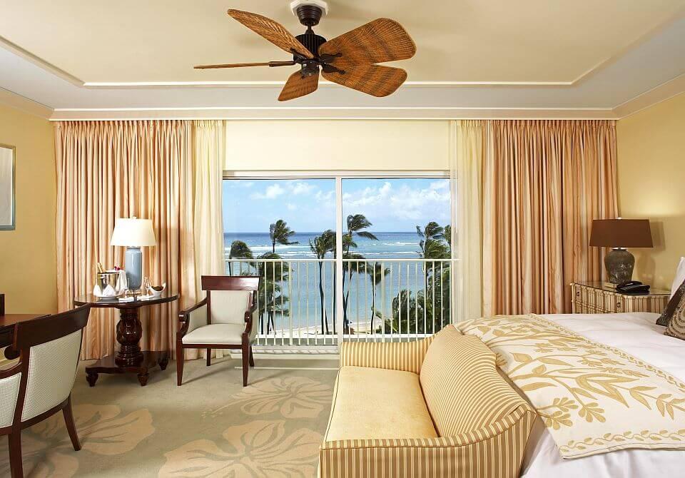 Hawaje, wyspa Oahu, Honolulu - The Kahala Hotel & Resort, Ocean Front Room