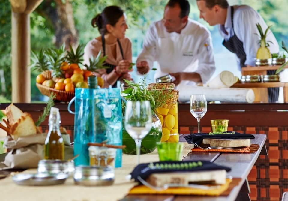 Restauracja na Mauritiusie