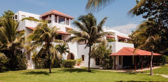 Meksyk, Hotel Esencia palmy