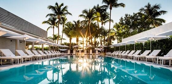Miami, COMO Metropolitan Miami Beach, basen główny, miniaturka