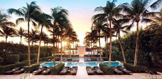 Miami, The Setai South Beach, basen, miniaturka