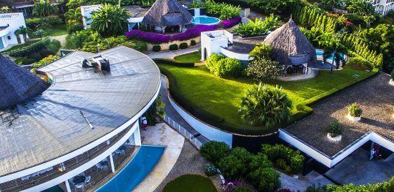 Widok z góry - Tanzania, wyspa Zanzibar - Diamonds Star of The East, mini